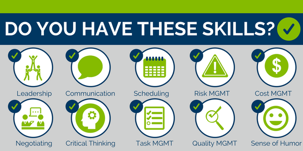 Do you have these skills for Project Management